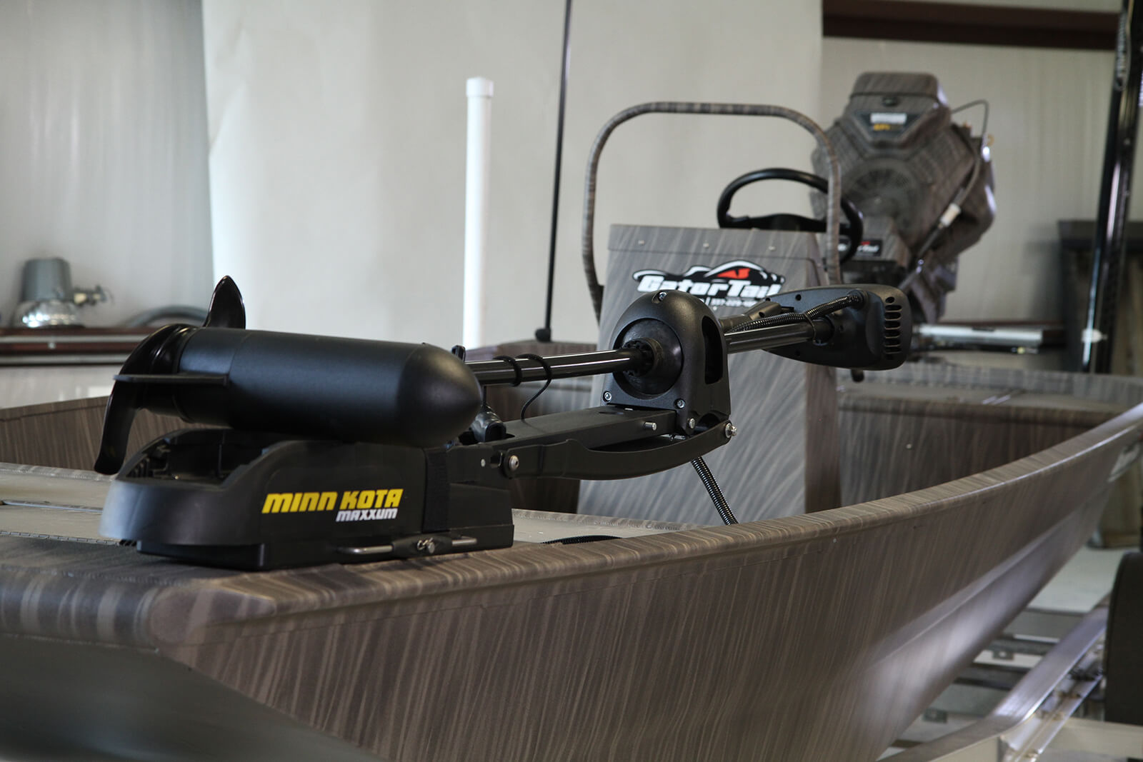 Gator Series Gator Tail: aluminum boat and motor packages